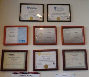 certified mechanic awards