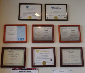 certifications for on site mechanics